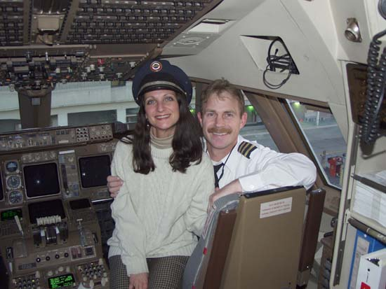 Ted and Lacretia in 747